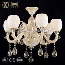 modern glass acrylic chandelier lamp aq20044 6