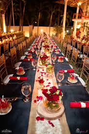 Candlelit dining table from a Rustic Vintage 21st Birthday Party on Kara's  Party Ideas   KarasPartyIdeas