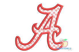 3,6,9 free designs we have a large and growing selection of designs that are totally free for you to download. A For Alabama Design Applique Creative Fabrica