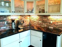 faux brick wall tiles exposed tile dishwasher old ideas how to paint a fake uk