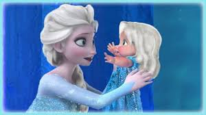 Frozen Princess Elsa and Baby Puzzle Game for Little Kids - YouTube