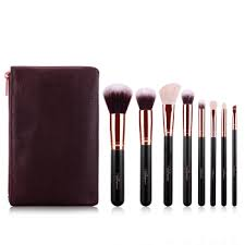 phantom silk msq makeup brush set hair lip brush eyebrow brush foundation brush eye shadow brush lipstick blush brush professional makeup cosmetic