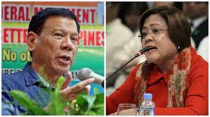 Duterte De Lima s sexcapades led her to crime drug pay offs.