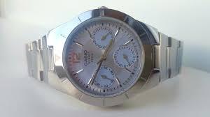 Женские <b>часы Casio LTP</b>-2069D-2A. ОбзорReview - YouTube