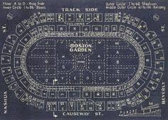 Old Boston Garden Seating Chart 24 Best Bruins Birthday Images Boston Bruins Hockey