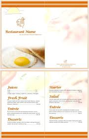breakfast menu template 11 free sample breakfast menu templates printable samples