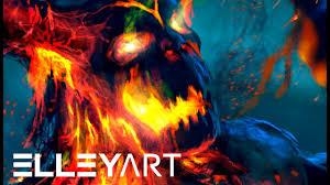 Rage Design Painting Rage Speed Painting By Elleyart