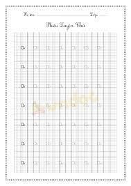 Mẫu tập tô chữ cái cho bé chuẩn bị vào lớp 1 - Tập viết bảng chữ cái Tiếng  Việt - VnDoc.com
