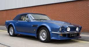 1980 Aston Martin V8 Vantage Volante X Pack Specification Classic Driver Market