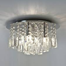 full image for crystal bathroom lighting light ceiling ing polished chrome finish um swarovski