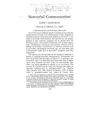 essay on nonverbal communication academic essay buy custom nonverbal communication essay