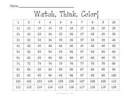 Free 120 Chart