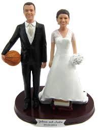 Custom Wedding Cake Toppers Personalized Bride Groom