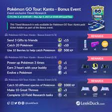 Pokemon GO Tour: Kanto - Bonus Event for Ticketed Users only - Friday, MAR  5, 10 AM to Monday, APR 5, 10 AM Local : PoGoAndroidSpoofing
