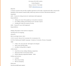 How To Make A Resume For A Teenager First Job Job Resume Samples For High School Students Of Examples Imposing 42