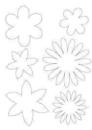 Flowers Templates Free Flowers Template Download Free Clip Art Free Clip Art