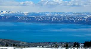 bear lake from above garden city