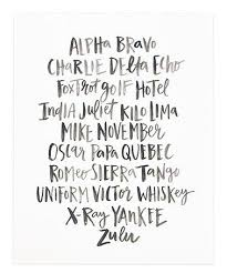 First of all tap on the alphabet letters below. Another Great Find On Zulily Alpha Bravo Charlie Print Zulilyfinds Illustration Print Great Words Print