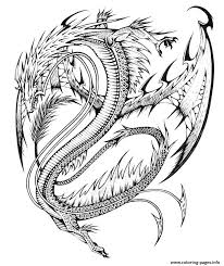 Dragon Coloring Pages For Adults To Download And Print Free Best ...