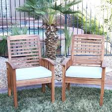 wood patio furniture acacia chairs set of 2 paint wood patio furniture