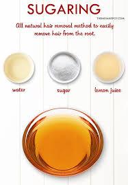 sugaring sugar wax hair removal at home