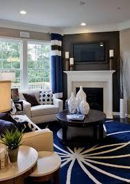 white and cream mantel corner fireplace design