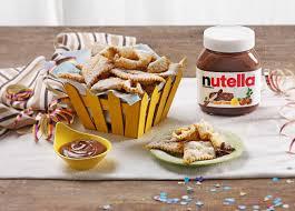 Chiacchiere di Carnevale, la ricetta originale con Nutella