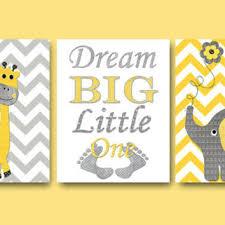 children room decor baby boy girl nursery es dream big little one elephant wall ar