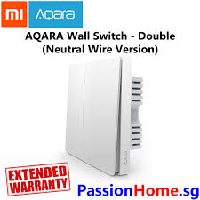 aqara wall switch double switch gang neutral wire version light control passion home