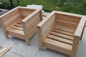 diy outdoor furniture. Unique Diy DIY Outdoor Porch Or Patio Furniture Learn How To Make These Chairs For  About 20 Intended Diy Outdoor Furniture