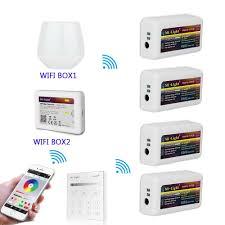 Mi Light Fut036 Milight T1 4 Zone Rf Panel Remote Controller Wireless