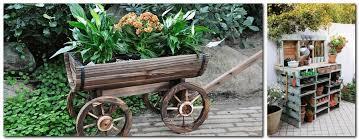 12 creative garden decor ideas shelving unit from