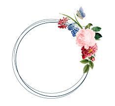 Floral Frame Card Design Illustration Vector Free Download