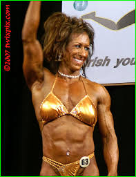 2007 NPC Emerald City Smoothie Emerald Cup - Bodybuilding - Middleweights - Cindy  Johnson