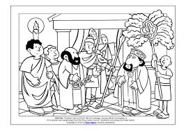 Coloring Page The Acts Of The Apostles Paul Appears Before King Agr