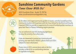 Garden Design For Visually Impaired Home Sunshine Community Gardens