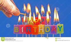 royalty free stock photo lighting birthday candles