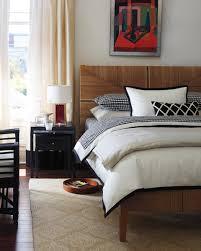 serena lily black gingham bedroom