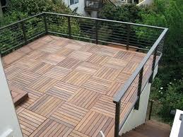 deck flooring ideas wood patio