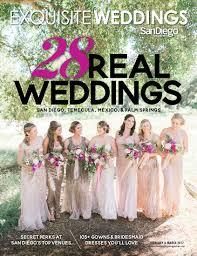 San Diego Magazine Exquisite Weddings Cover Molly Robert