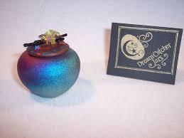 Dream Catcher Jar Raku Dream Catcher Pot Vase Diller Pottery Iridescent Southwest 24