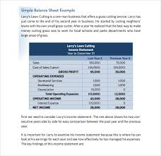 Sample Balance Sheet 15 Documents In Word Excel Pdf