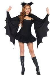 Cozy Wings Size Chart Black Shrug Cozy Wings With Ears Witch Costumes