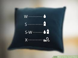 How To Wash Throw Pillows Without Removable Cover Interesting 60 Ways To Clean Couch Pillows WikiHow