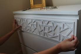 furniture hack. add instant glam to your ikea furniture using overlays hack v