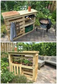 Unique pallet furniture Recycled Pallet Everything At Hand For Perfect Bbq Get Hold Of Similar Block Pallets Preferably Sized Around 110 100 Get Some Boards From Eg Fences Around 10 Pinterest 80 Unique Pallet Projects You Can Build For Less Than 50 Pallet
