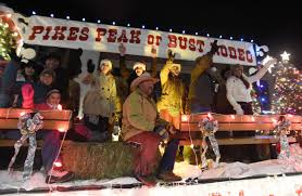 The Parade Of Lights Colorado Springs Colorado Springs Biggest Holiday Events Light Displays And