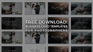 Free Photographer Business Card Templates Signature Edits Edit