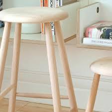 decorating fascinating white oak wooden unfinished bar stools