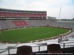 Bryant Denny Stadium View From Section U1 Cc Vivid Seats